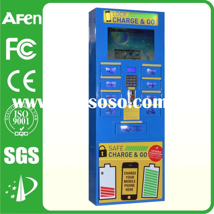 kiosk machine for cell phones