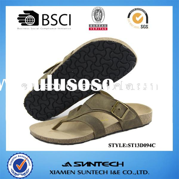 italian mens leather sandals