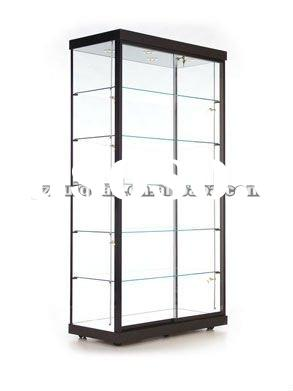 metal glass display case/showcase/cabinet