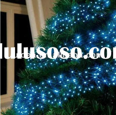 Battery Operated LED blue Glow Fairy Lights Flash