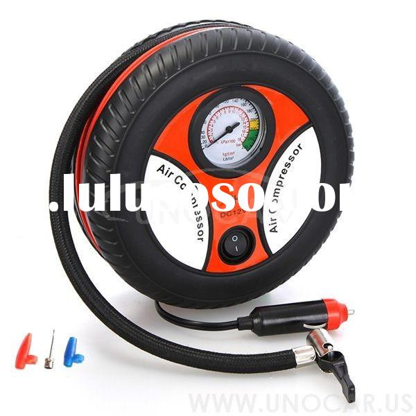 Steady working 12v car air compressor air pump for car tires