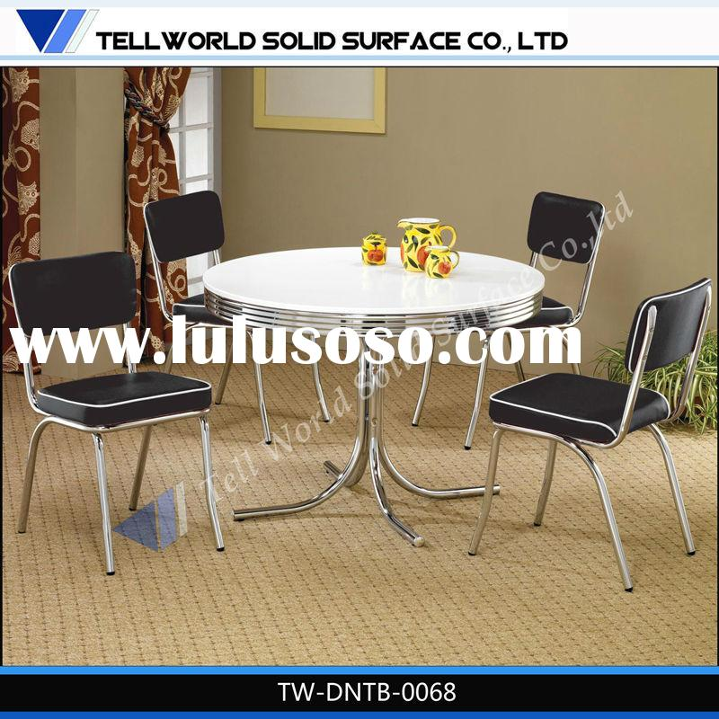 Tell World dining room furniture manufacturer custom china cheap marble top dining table sets