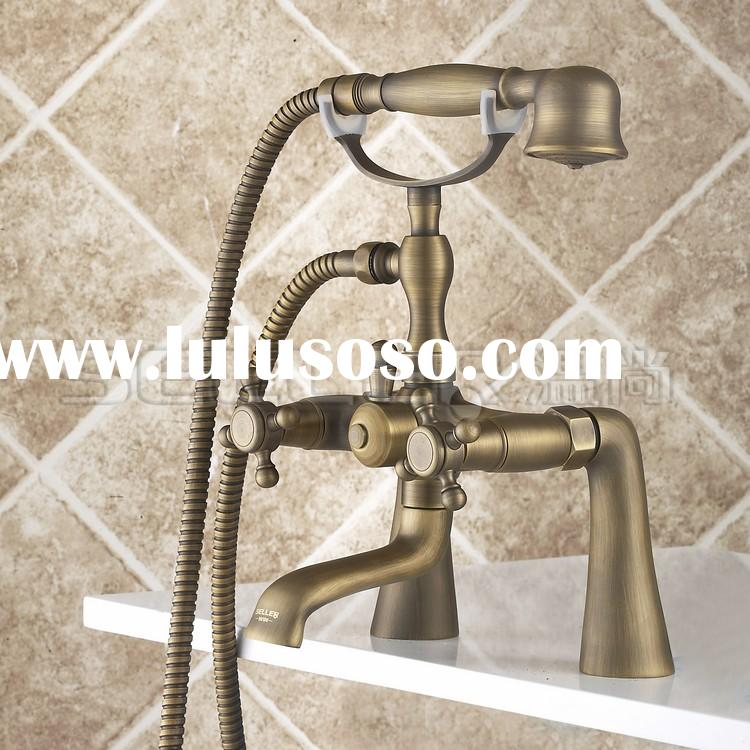 2014 Wholesale dual handle delta shower faucet/shower faucet set