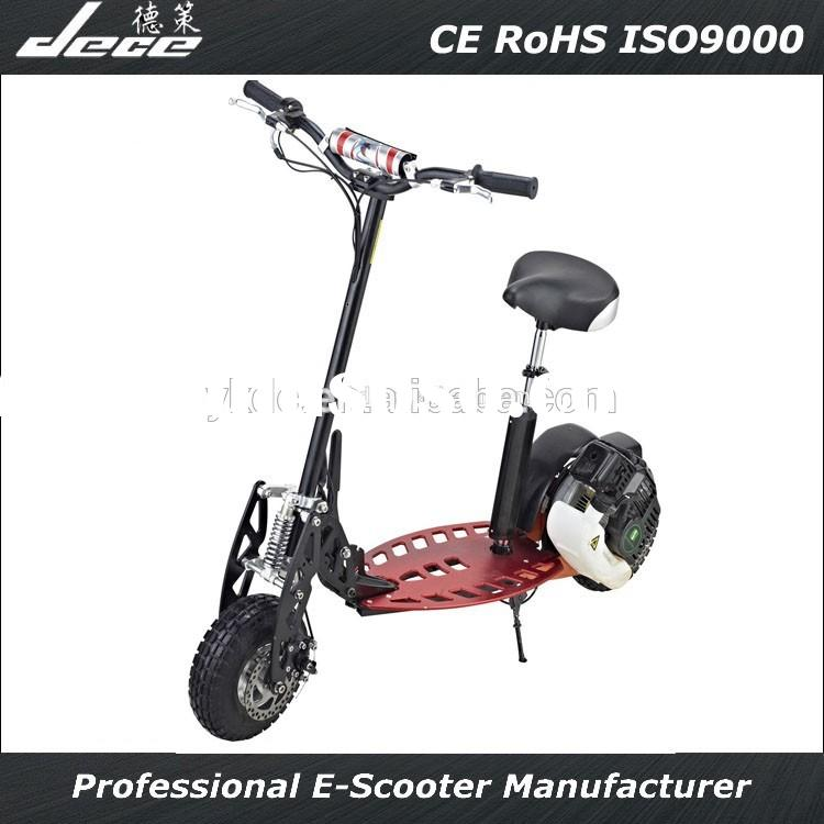 2015DECE NEW Hot 49CC gas scooter for adult CE certificate 2wheels