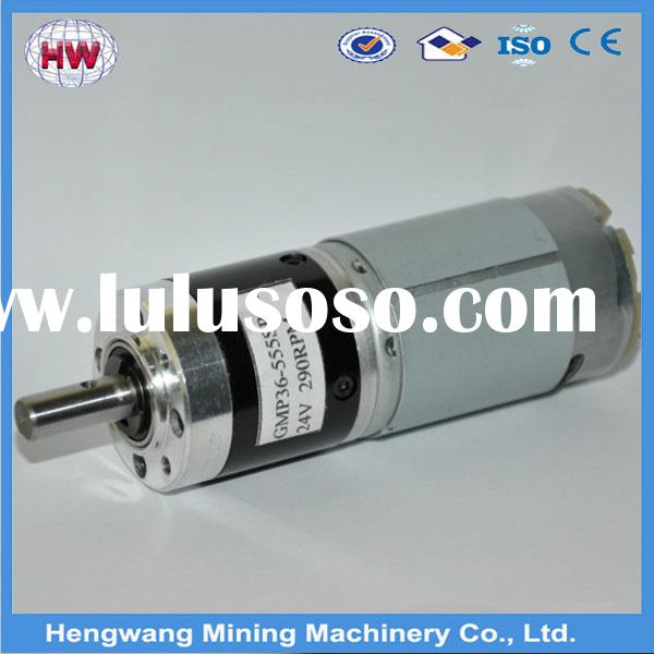 High precision dc motor 48 volt with good performance