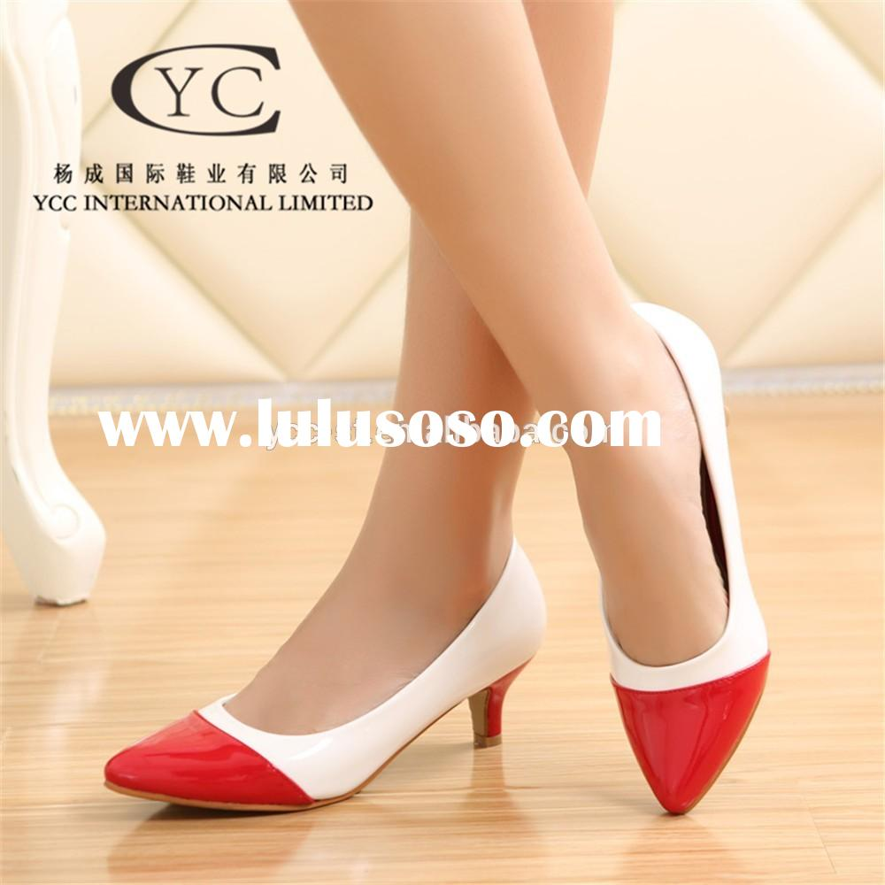 New design wholesale china women shoe for wholesales china women shoe low heel party shoes
