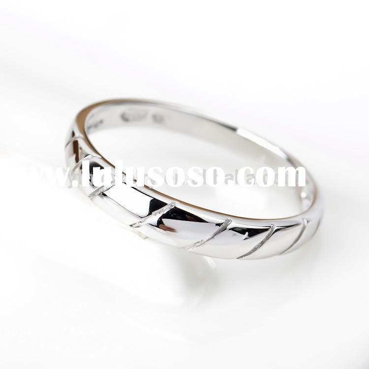 Simple and Unique Sterling Silver Ring, Silver Jewelry for Women