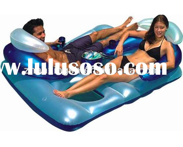 hot sale two man chair pvc floating inflatable water toys for the lake