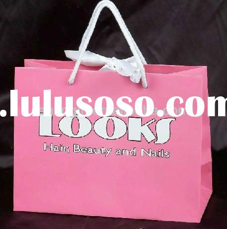 small colored paper bags with handles, cheap printed paper bag custom logo