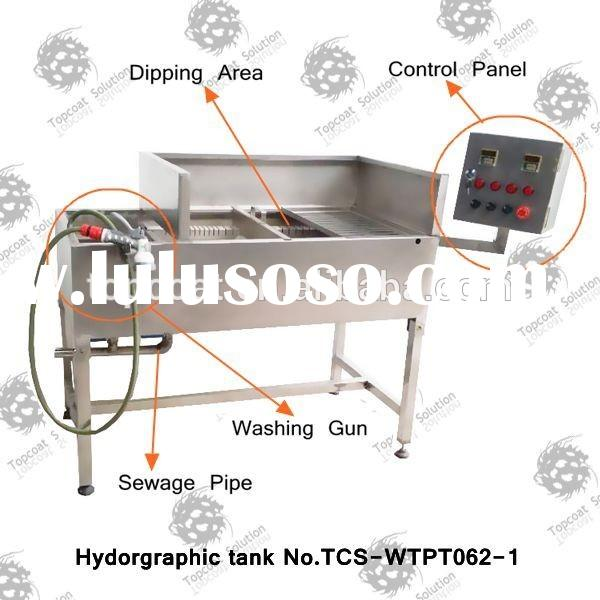 water transfer printing machine prices attached washing gun No.TCS-WTPT062-1 hydro dipping tank