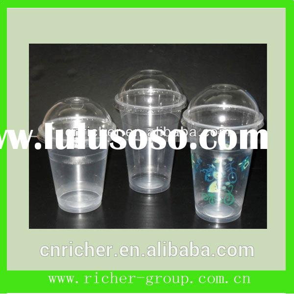 "160ml disposable round FDA LFGB BPA Free plastic cup with lid        <span class=""ico-mp&quo"