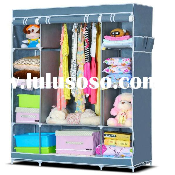 2014 New High Quality Collapsible Fabric Storage Wardrobe