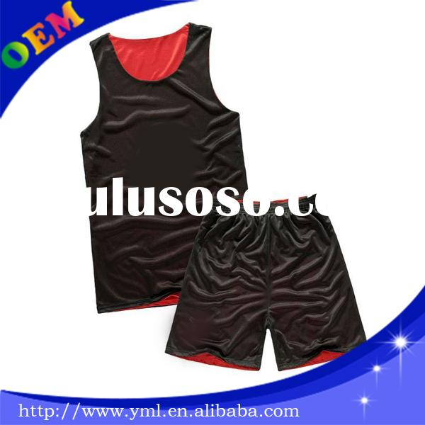 2014 custom cheap reversible wholesale blank basketball jerseys