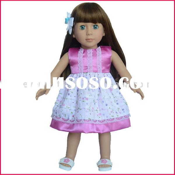 2015 new design american girl doll/ online doll dress-up girl games/mini toys for kids/