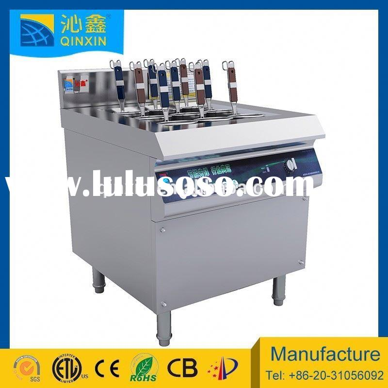 9 baskets commercial induction electric noodle cooker/used restaurant equipment for sale