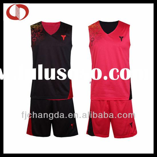 Cheap reversible professional blank basketball jerseys wholesale