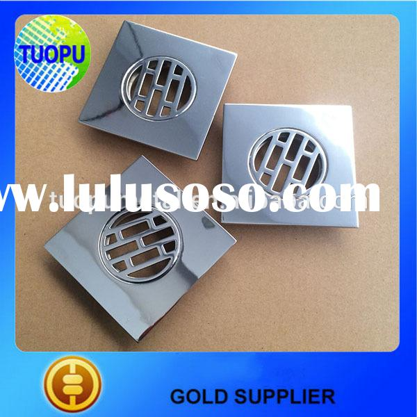 China Kitchen shower square floor waste grate sanitary drain stailess steel deck drain floor drain c