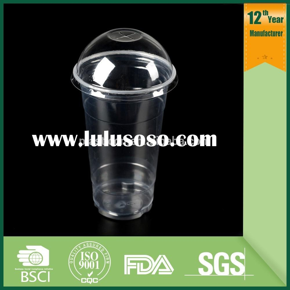 Food packaging cup,plastic cup with lid and straw,unbreakable cup