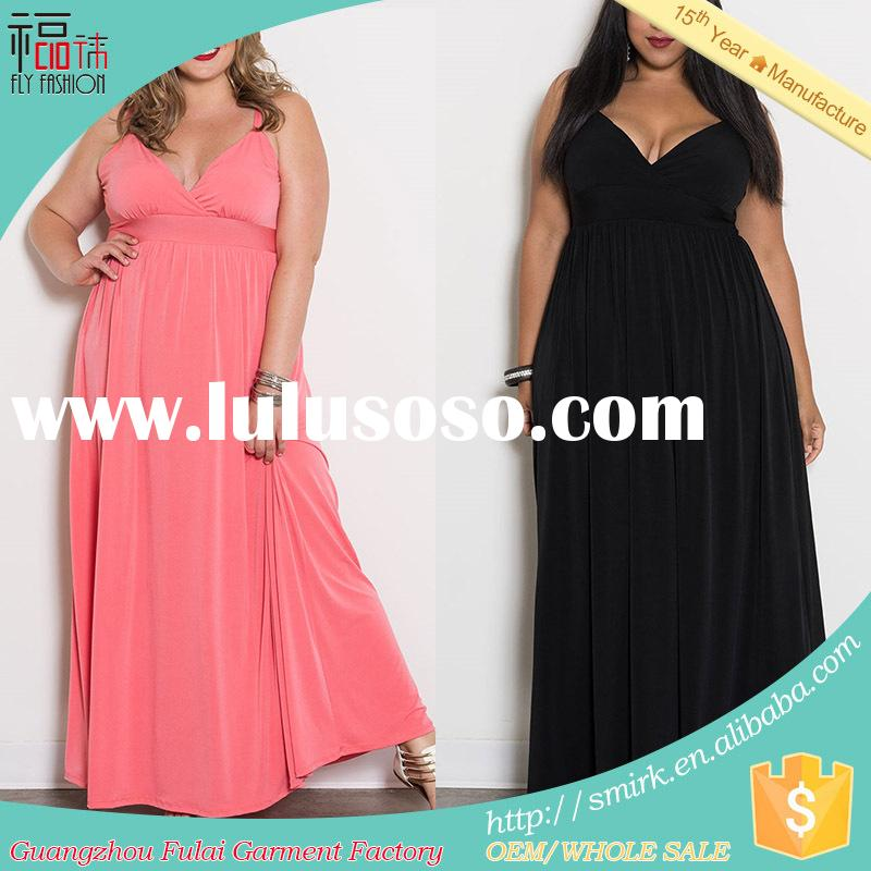 HD003# three color elegant evening dresses sleeveless fashion wear for fat women (3XL/4XL/5XL/6XL/7X