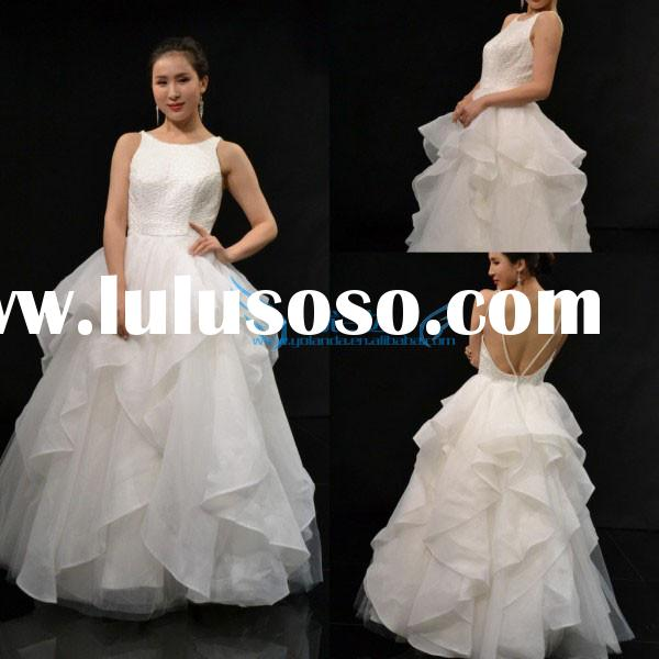 High Quality Custom Made Cap Sleeve Ball Gown Sweetheart Wedding Dresses 2015