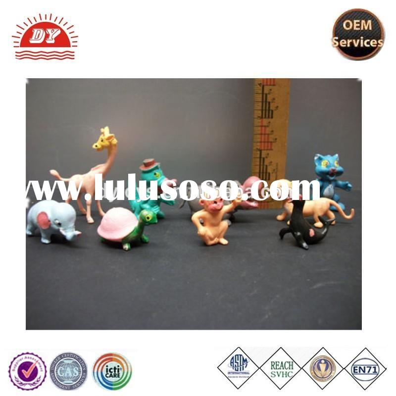 ICTI certificated custom make plastic zoo animal figure collectible toy