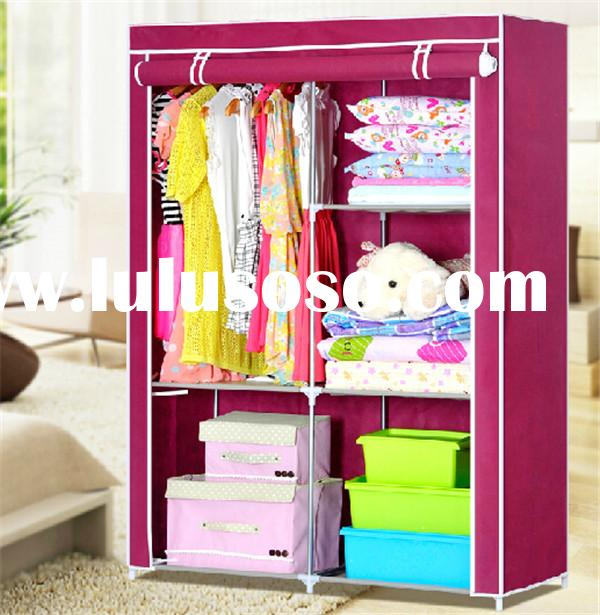 LATEST CLOSET STORAGE BEDROOM COLLAPSIBLE WARDROBE