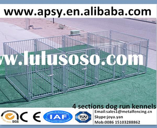 Large 6'x8'x6' x 4 sections pet cages for dogs galvanized animal fence enclo
