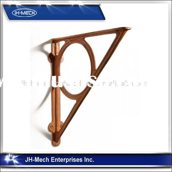 Morden decorative metal support bracket