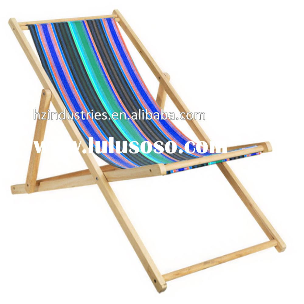 Portable beach folding chair folding beach lounge chair factory for sale