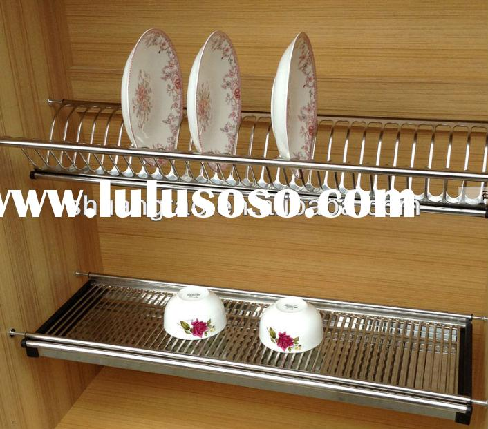 ST-DWJ-05 guangzhou factory with tray stainless steel dish drying rack