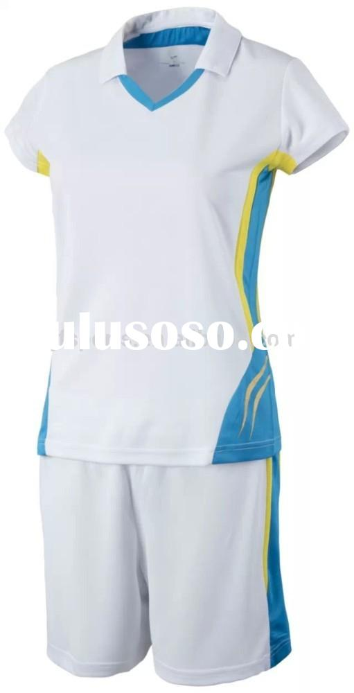 good quality Cheap sublimated volleyball jersey design