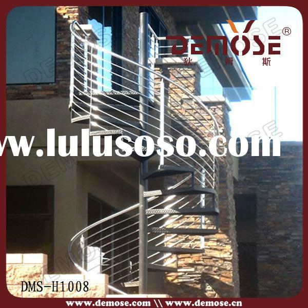 outdoor steel spiral stairs/staircase prices
