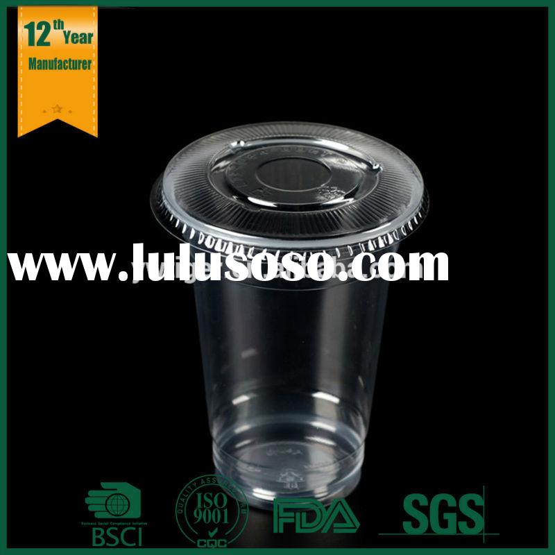 reusable plastic straw cup for kids,hard plastic cup with lid and straw,