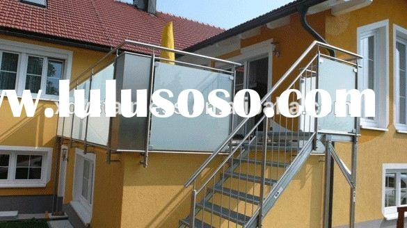 304 stainless steel aluminum railings for outdoor stairs