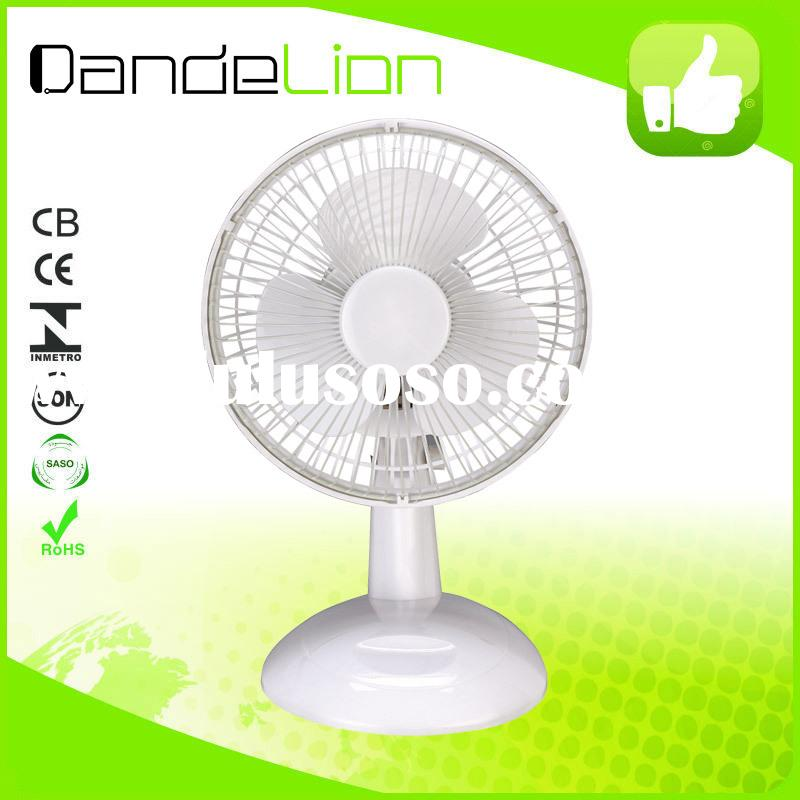 "6"" fashion new model mini small electric desk fan/ultra quiet desk fan j1"
