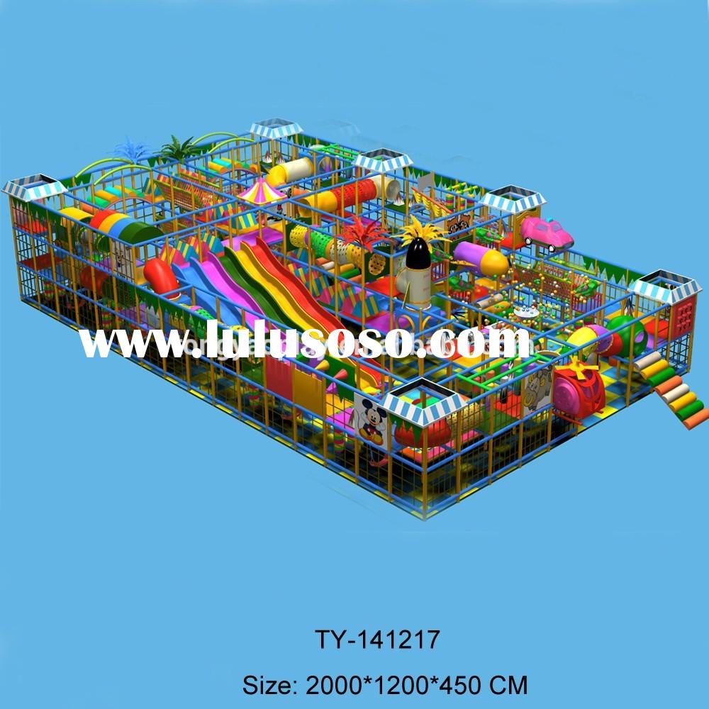 China Biggest Commercial Used Toddler Ocean Soft Indoor Playground Equipment Sale For Children