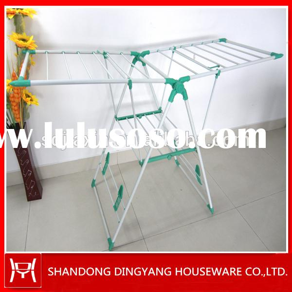 Folding Aliform heavy duty hanging clothes drying rack