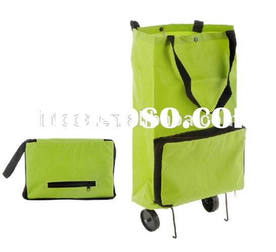 Hot selling folding shopping cart / shopping cart with wheel / portable shopping cart