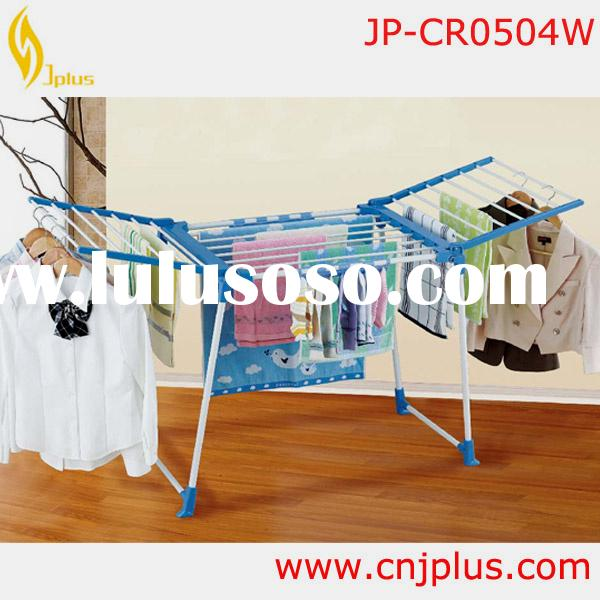 JP-CR0504W New Item Best Folding Laundry Room Clothes Hanger Rack Laundry Hanging Rack