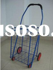 L1 Most popular folding shopping cart with 4 wheels