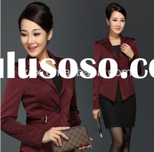 Ladies formal skirt suit/ladies designer skirt suits/ladies skirt suits