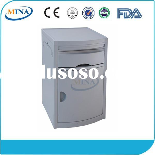 MINA-BS03 top-class plastic hospital storage cabinet with drawer
