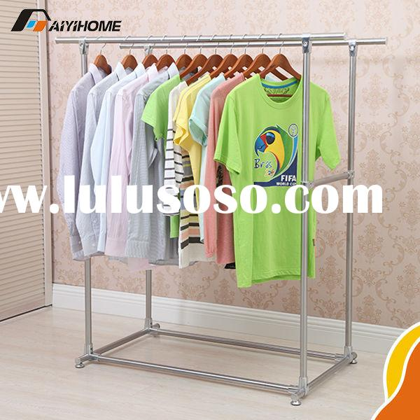 Stainless Steel Material and Garment,hanging clothes Usage laundry room drying rack