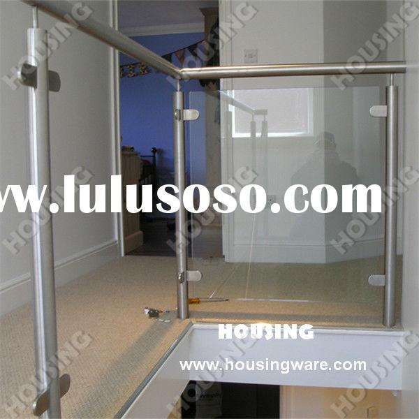 Stainless steel glass railings for stair&balcony&fence indoor safety