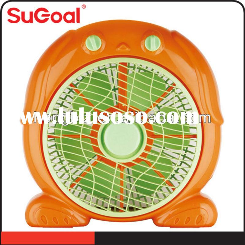 "Sugoal small electric quiet desk air 20"" box fan"