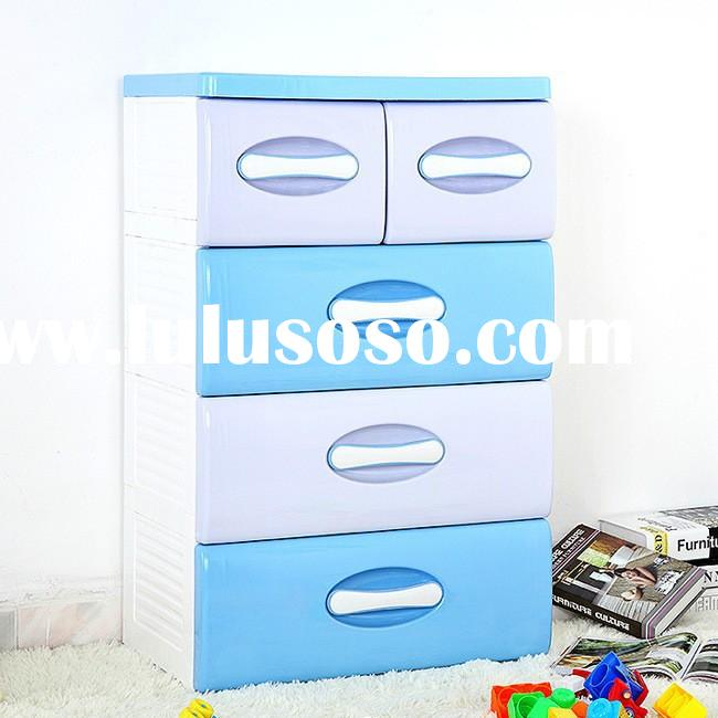 bedroom plastic storage cabinet with drawers