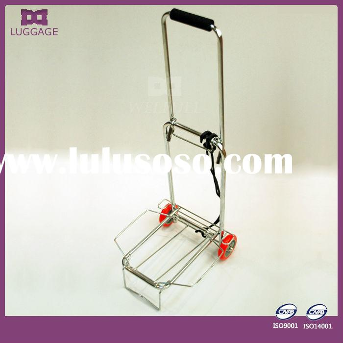 practical portable folding shopping cart with wheels