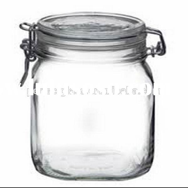 250ml glass candy jar/ glass jar with lid