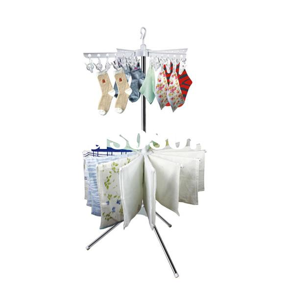 BAOYOUNI free standing towel rack indoor clothes dryer towel airer stand