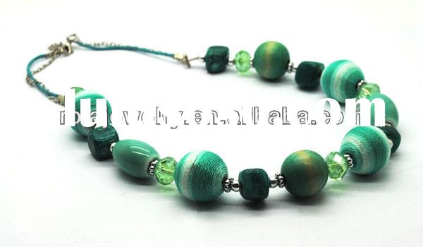 handmade jewelry for sale BEAD NECKLACE BEAD JEWELRY WHOLEALE JEWELRY FASHION ORNAMENT ACCESSORY